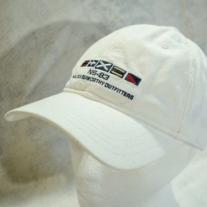 Nautica Seaworthy Outfitters White OSZ OS Hat